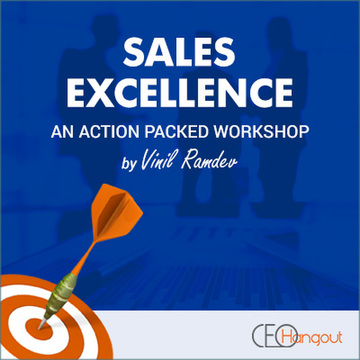 Sales Training Excellence by Vinil Ramdev