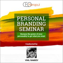 Personal Branding Seminar by Vinil Ramdev