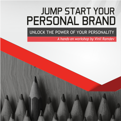 Jump Start Your Personal Brand by Vinil Ramdev